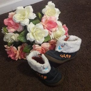 Olaf Stride Rite shoes